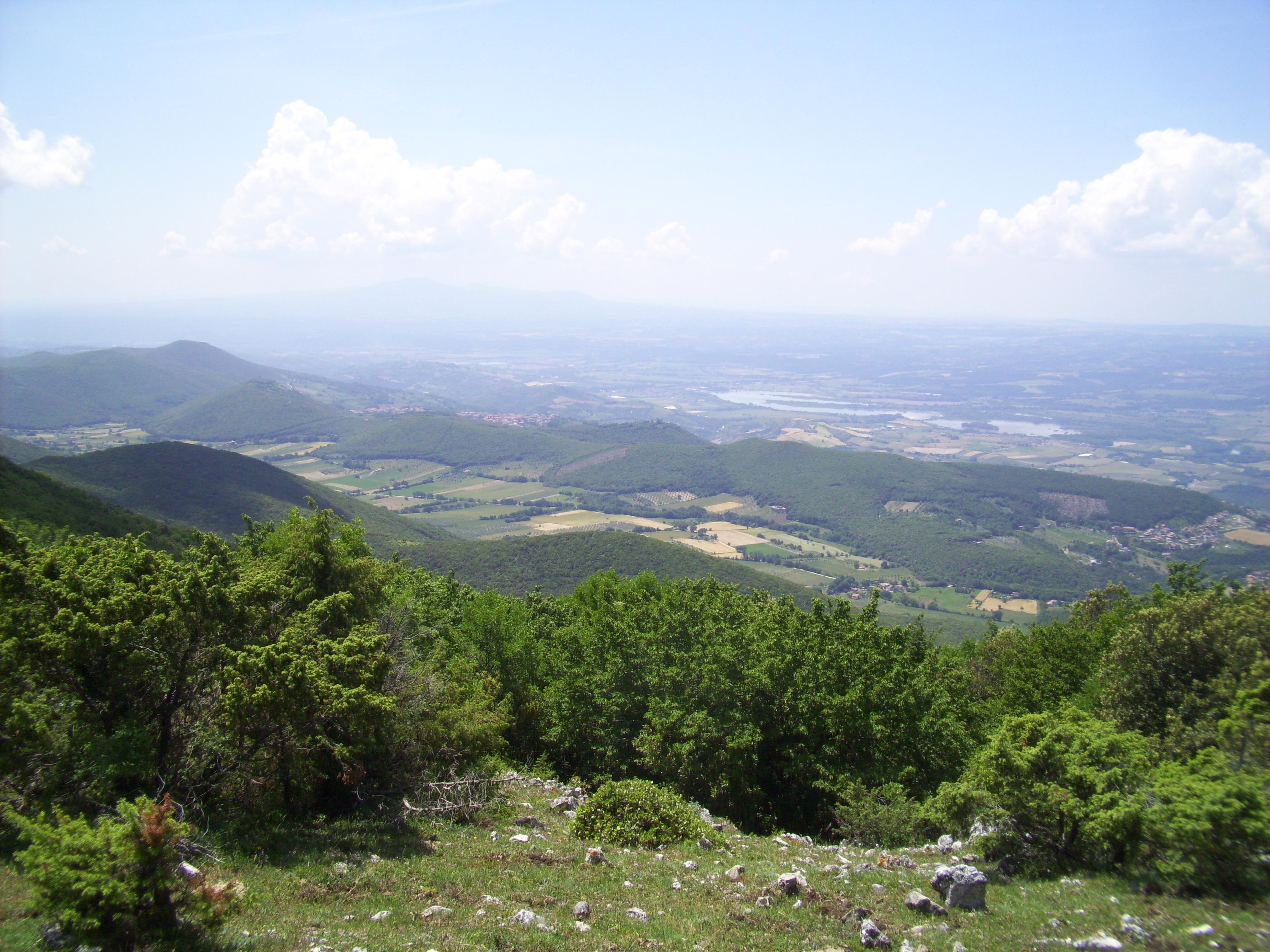 Vista da Croce di Serra
