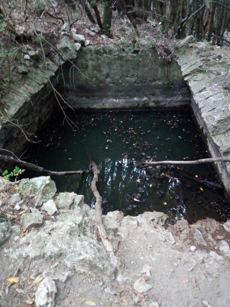 Cisterna del monastero di monte corvo
