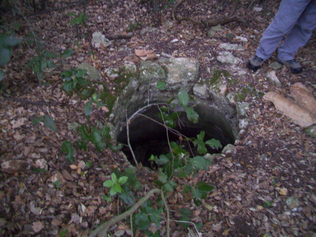 Resti del pozzo del monastero di Santo Jaco