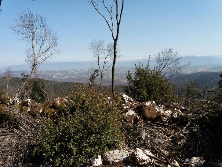 Monte Civitelle visto dal Castellare