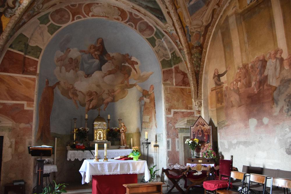 La cappella del Castello di Alviano
