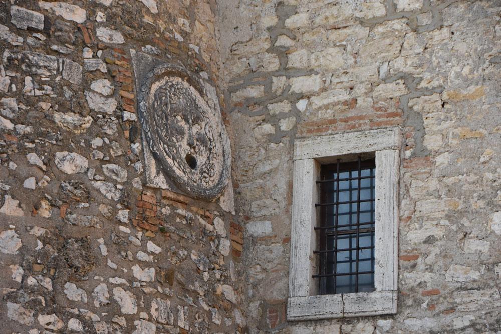 Particolare del Castello di Alviano
