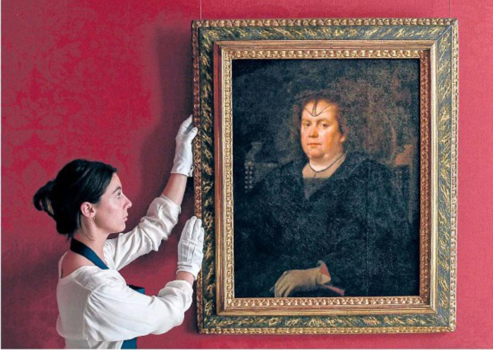 Ritratto di Donna Olimpia di Velasquez
