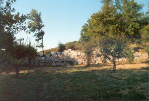 Mura Megalitiche sotti i fossi di Guardea, Monti Amerini