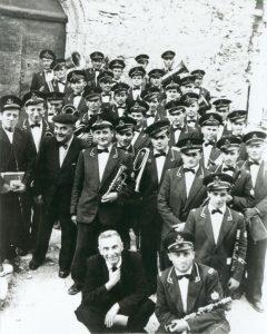 banda musicale al castello con Jimmy Savo e il direttore Pinna