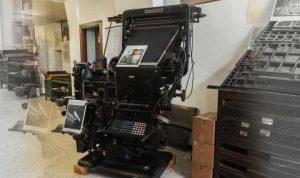 Montefiascone Museo della Stampa e Tipografia Silvio Pellico