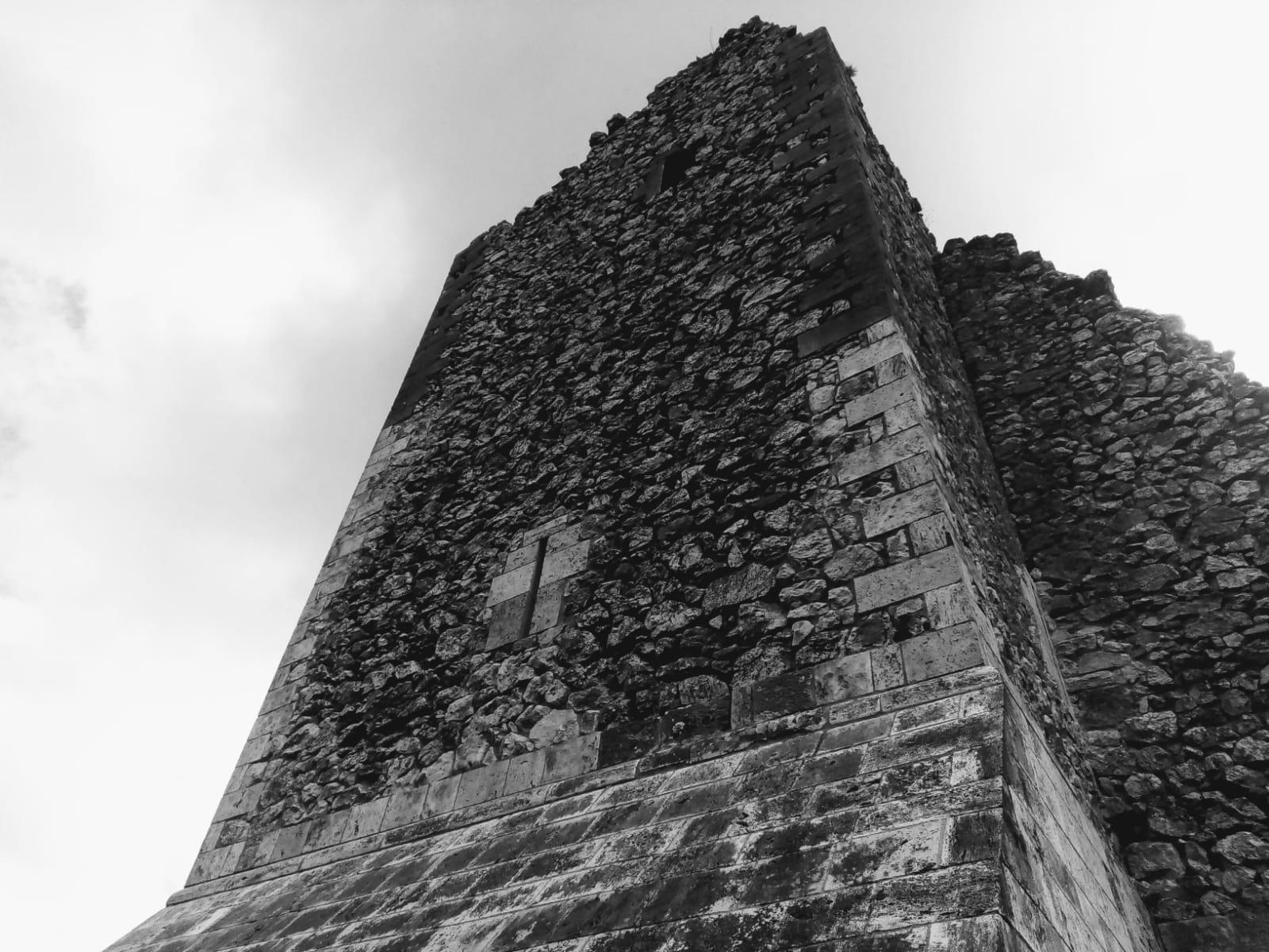 Torre di Guardea Vecchia, dettaglio